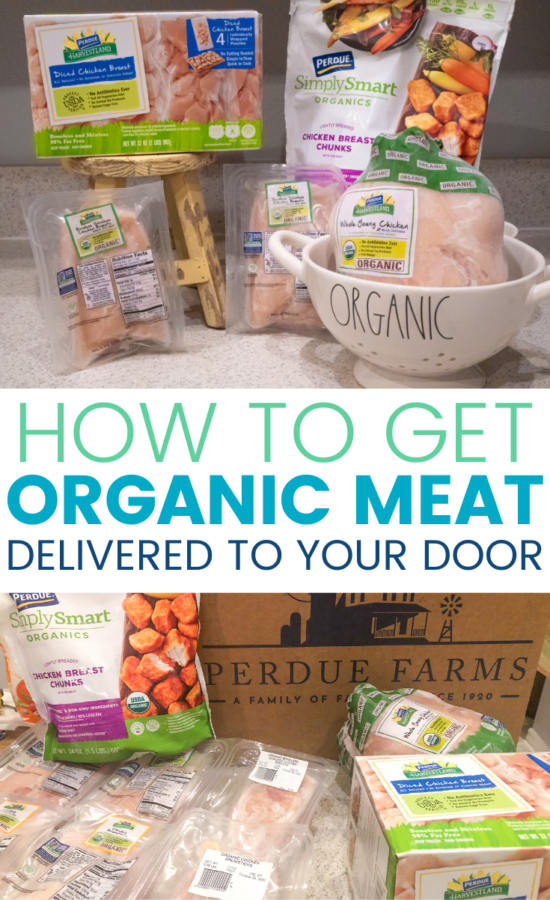 I never thought the day would come when I'd be ordering groceries online, much less ordering quality, organic meat from a brand that I've trusted for years.