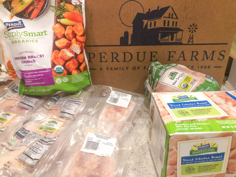 Perdue Farms Organics Bundle Delivery
