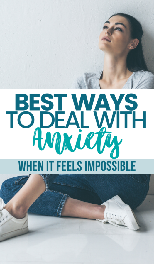 When anxiety hits, it feels like there's no stopping it. This list will give you the best ways to deal with anxiety – even when it feels impossible.