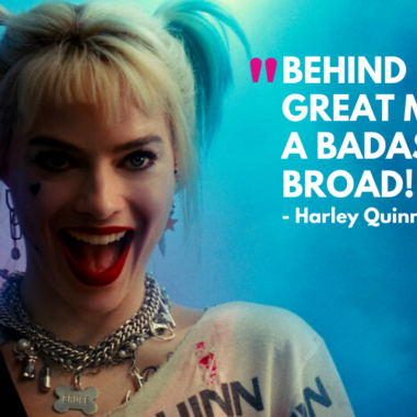 10 Badass Birds of Prey Quotes by Harley Quinn
