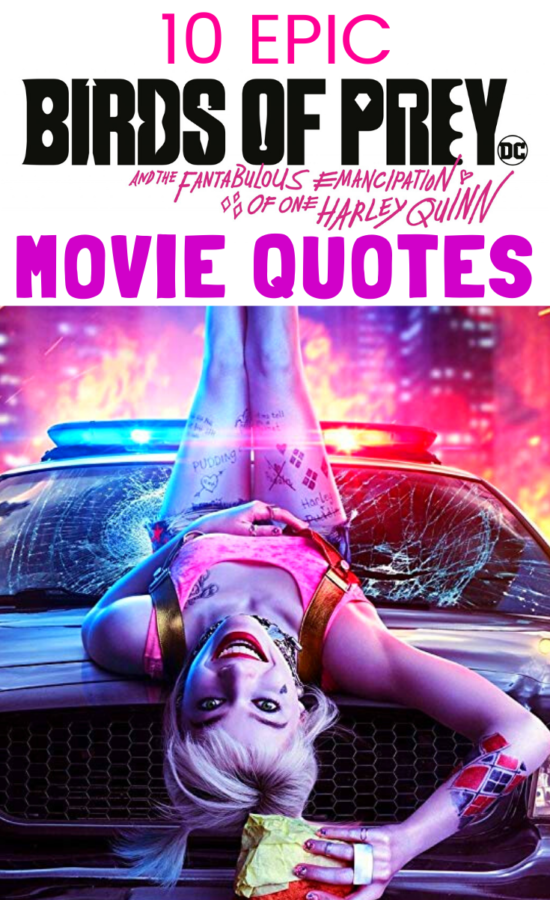 Harley Quinn Birds of Prey Quotes