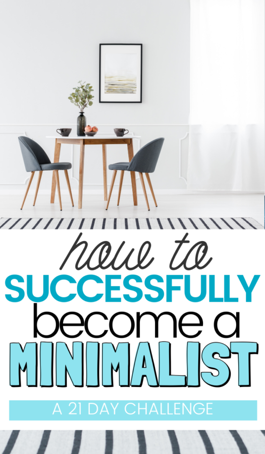 Challenge to Be Minimalist