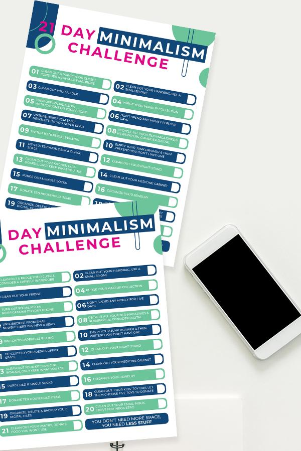 Minimalist Checklist Free Printable