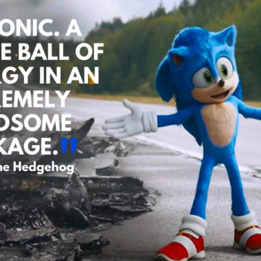 25 Sonic the Hedgehog Movie Quotes kids & fans will love!