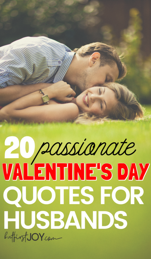20 Valentine's Day Quotes for Husbands