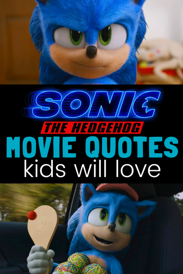 Sonic Movie Quotes for Kids