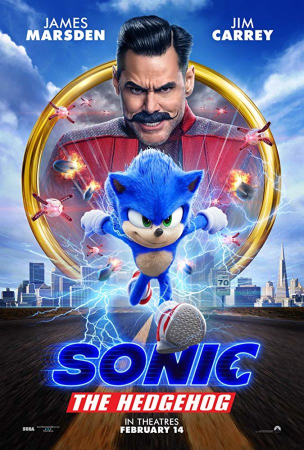 Sonic The Hedgehog Movie Poster New