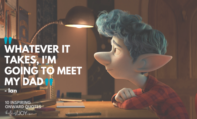 Pixar's latest film will absolutely tug at your heartstrings. If you're looking for Pixar's Onward movie quotes that evoke emotions – take note of these lines.