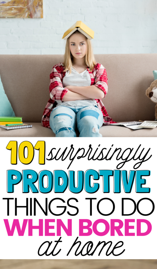 Are you stuck at home and feel completely unoccupied? This list of 101 Productive Things to Do When Bored will give you a sense of accomplishment in no time!