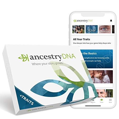 12. AncestryDNA: Genetic Ethnicity + Traits Test