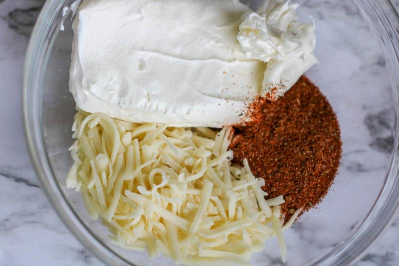 Fajita Chicken Casserole INgredients