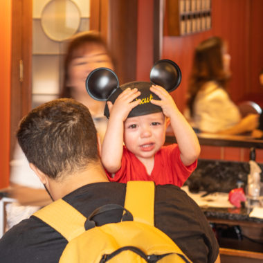 First haircut package at Disney