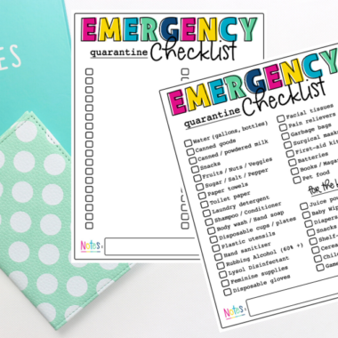 Emergency Quarantine Checklist – Everything You Need to Survive Isolation