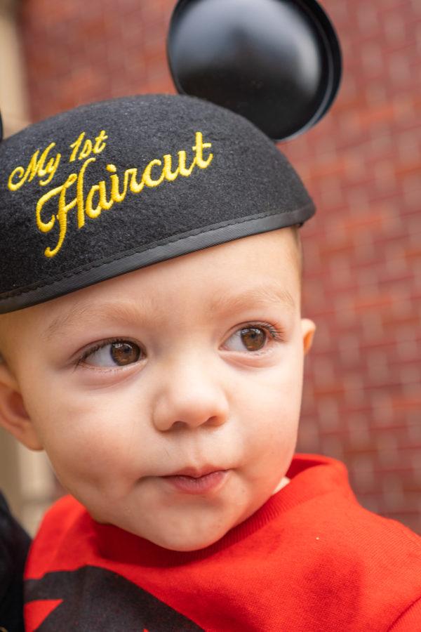 Disney World First Haircut Hat