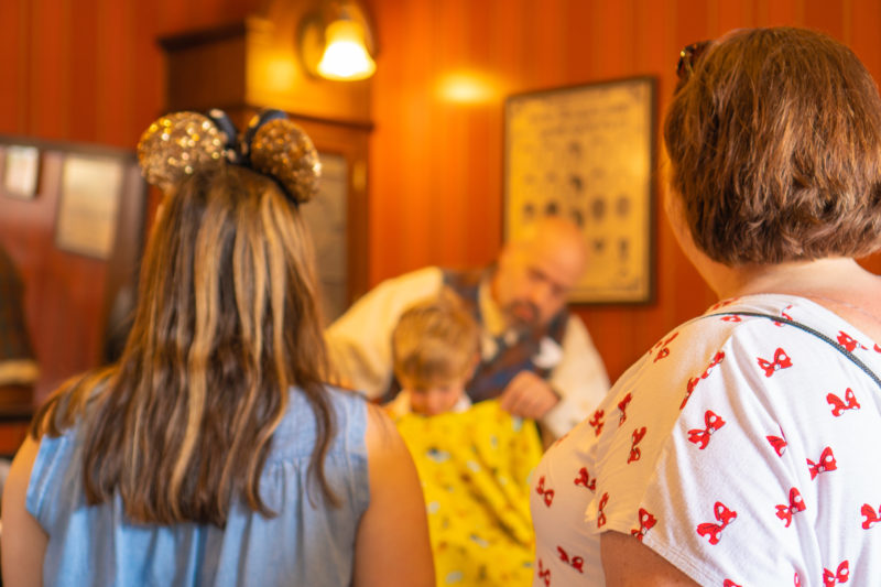 Disney World First Haircut Experience