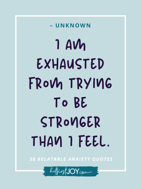 Quote about Being Stronger Than You Feel