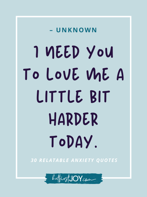 Love me more today quotes