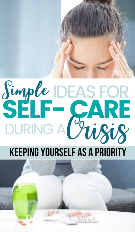 When times are difficult, we tend to put ourselves on the back burner. We sleep less and worry more. Believe it or not, there are some simple ways to practice self care during a crisis.