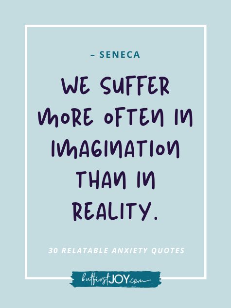 Quotes about overthinking and reality