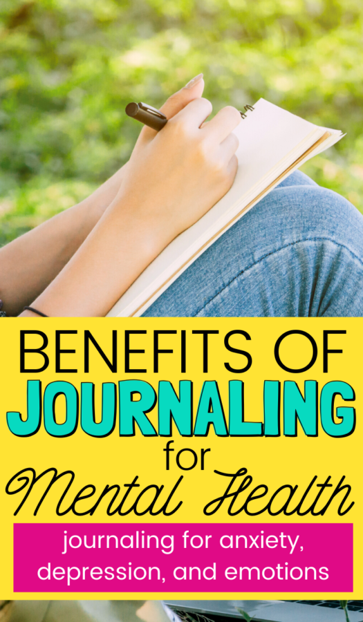 Are you ready to start journaling? There are benefits of journaling for mental health, keep reading to discover how it helps depression, anxiety, & more!