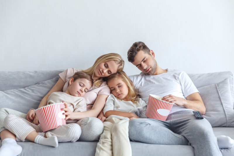 What to do when bored at home with family