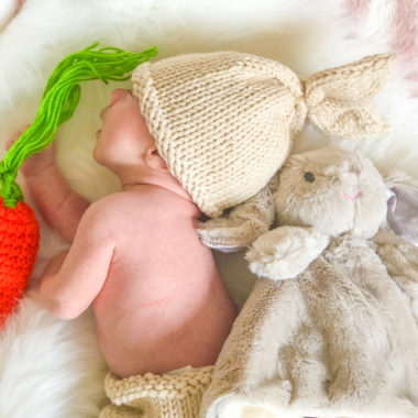 baby's first easter ideas