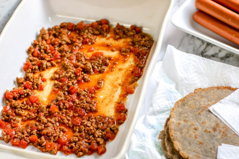 Chiili Cheese Dog Casserole