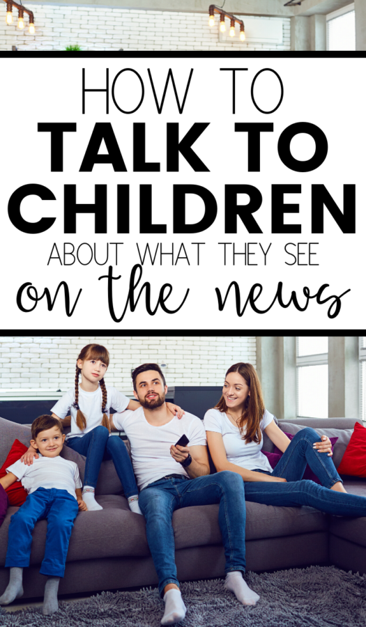 The news can be confusing and scary for little ones. It's important for parents to know how to talk to children about what they see on the news. This will help them to form their own opinions.