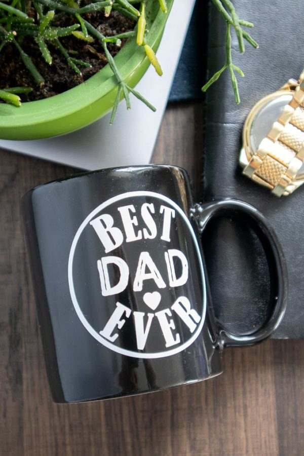 Best Dad Ever Cricut Joy Mug