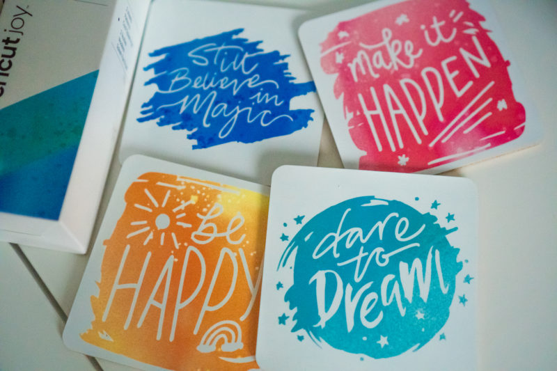 Tips for making coasters with infusible ink transfer sheets