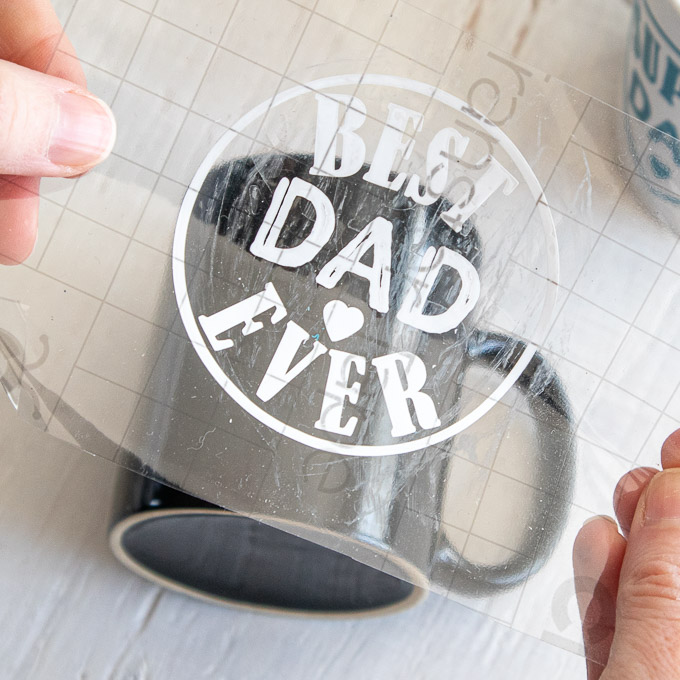 How To Make Dad Mug With Cricut Joy Smart Vinyl