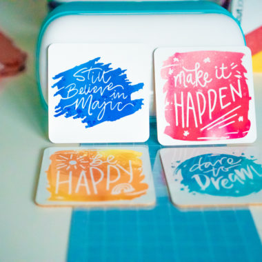 How To Make Coasters With Cricut Joy Infusible Ink Transfer Sheets