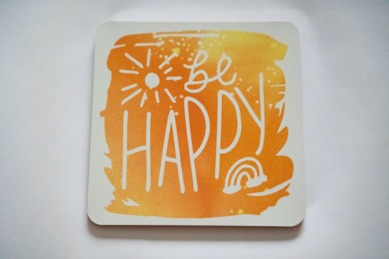 Inspirational Coasters with Cricut Joy