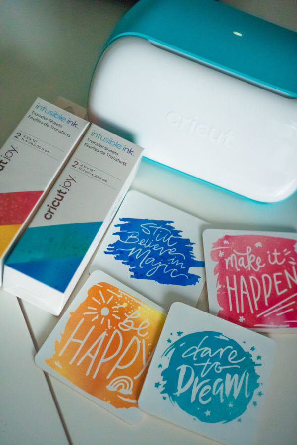what you need for cricut infusible ink coasters