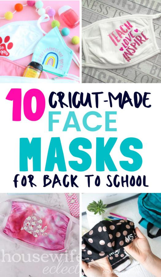 DIY Face Masks for School