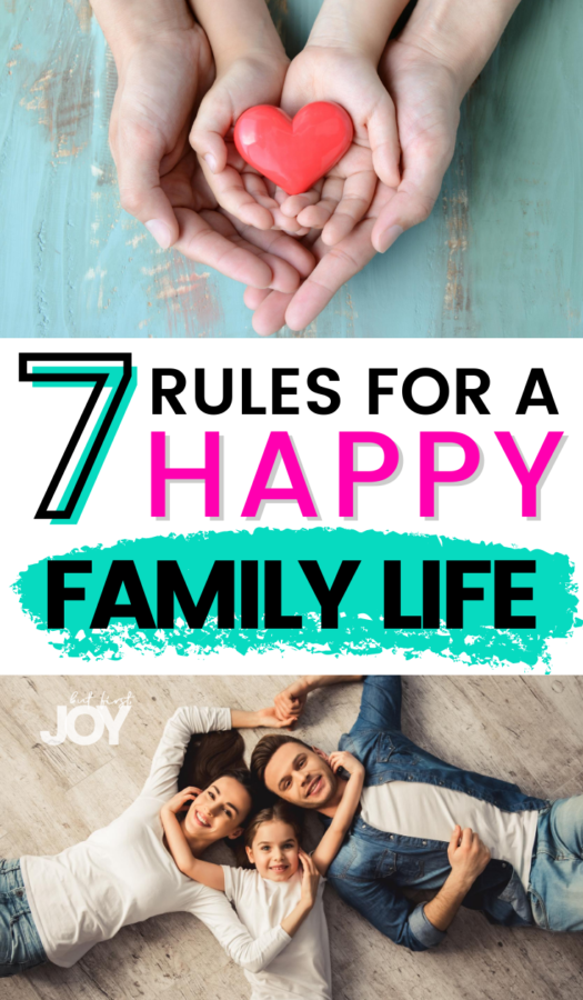 rules for happy families