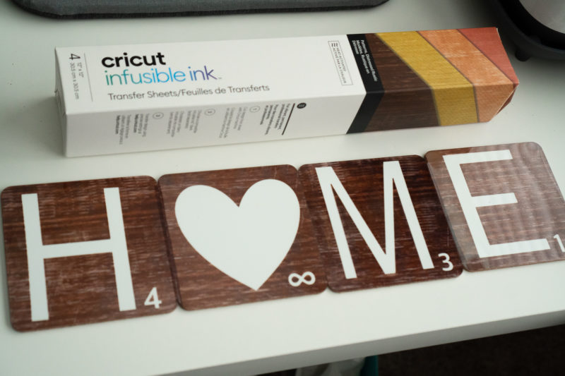 Faux Wood Infusible Ink Cricut