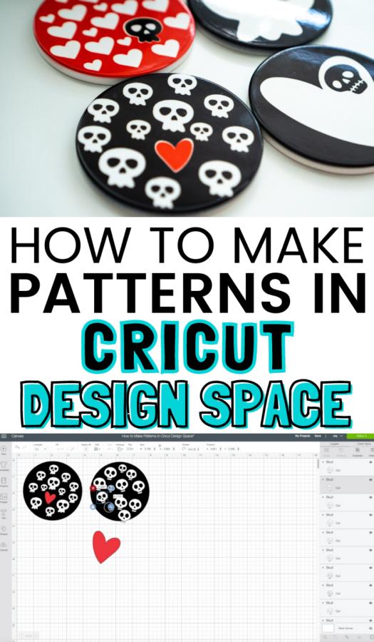 cricut design space patterns tutorial