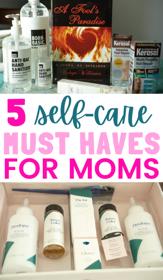 self-care must-haves for moms