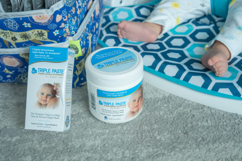 diaper rash triple paste