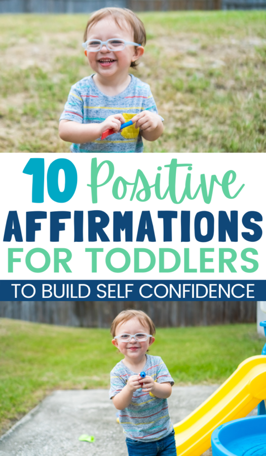 How to Build Toddler Confidence with Positive Affirmations