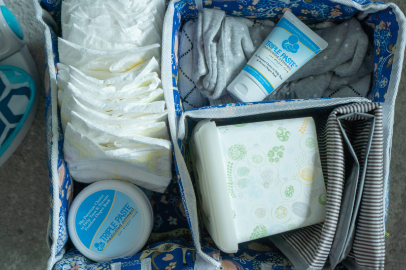 what you need in diaper changing station