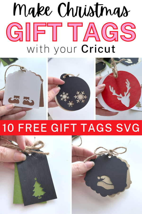 Make Christmas Gift Tags with Cricut