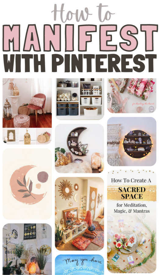 How to Manifest Things with Pinterest