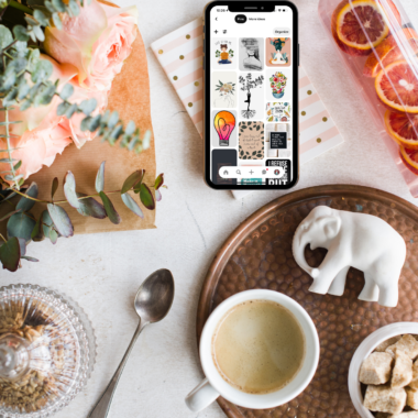 How To Create a Manifestation Vision Board on Pinterest