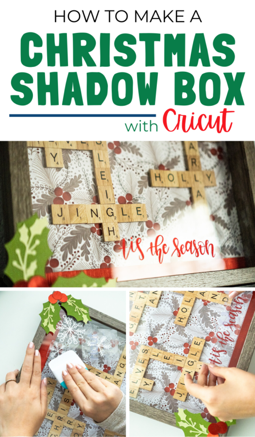 christmas shadow box ideas cricut