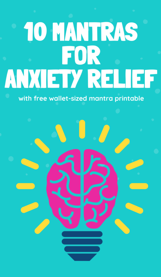 10 Positive Mantras to help with Anxiety