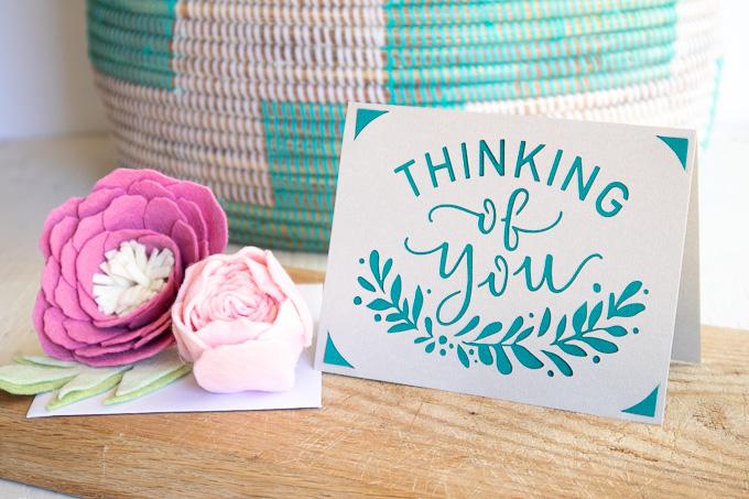 Cricut Joy Thinking Of You Card-0131