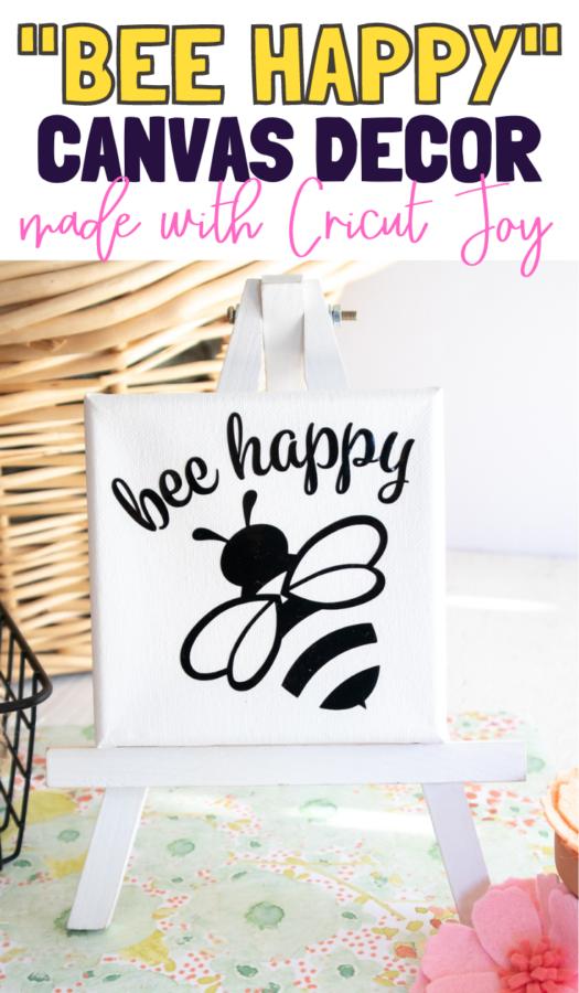 DIY Bee Happy Spring Decor