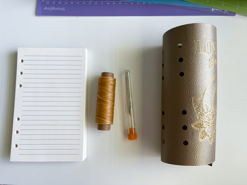 Leatherworking Tools with Cricut maker 3